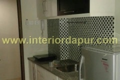 proses pengerjaan kitchen set