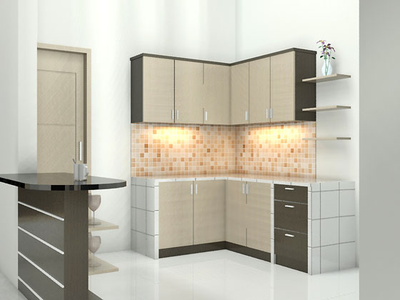 Awesome 11 Desain Interior Kitchen Set Minimalis Inspirational