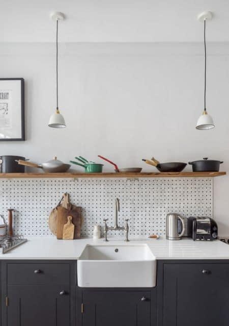 kitchen set dapur rak tunggal atas