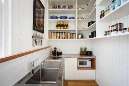 kitchen set kabinet dapur atas terbuka