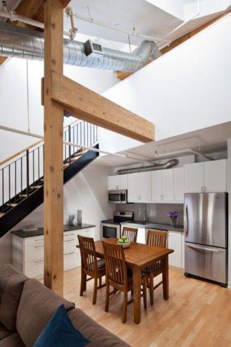 dapur bersih bawah tangga minimalis