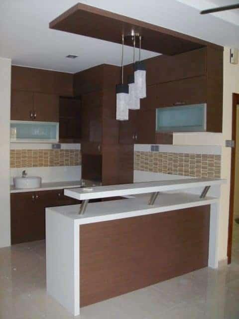 minibar mungil untuk dapur minimalis