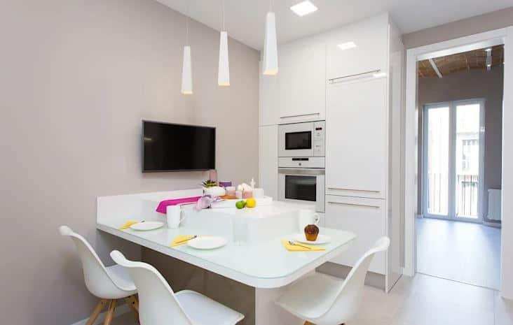 dapur minimalis apartemen kecil