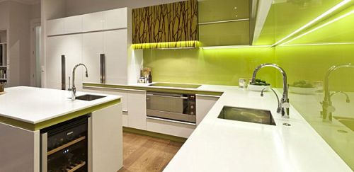 pencahayaan rak dapur