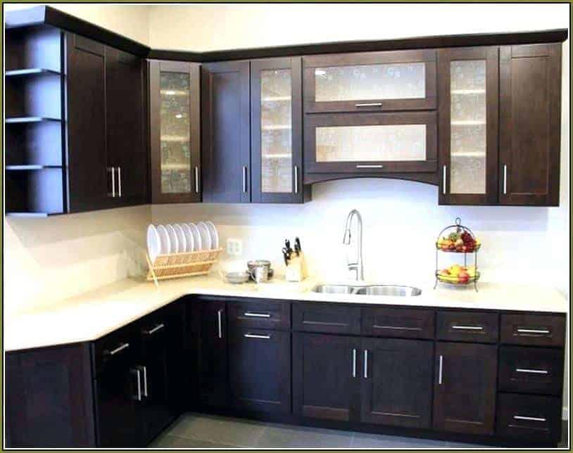 kabinet gantung dapur hitam