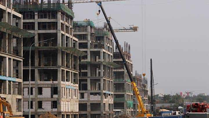 pembangunan proyek meikarta district one