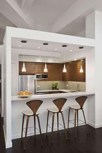 minibar stylish dapur minimalis
